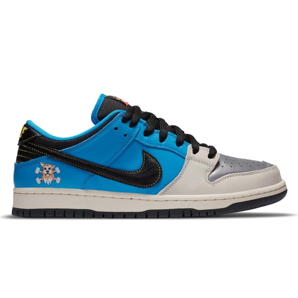 Nike SB x Instant Skateboards Dunk Low Pro QS (Blue Hero/Black-Pale Ivory)