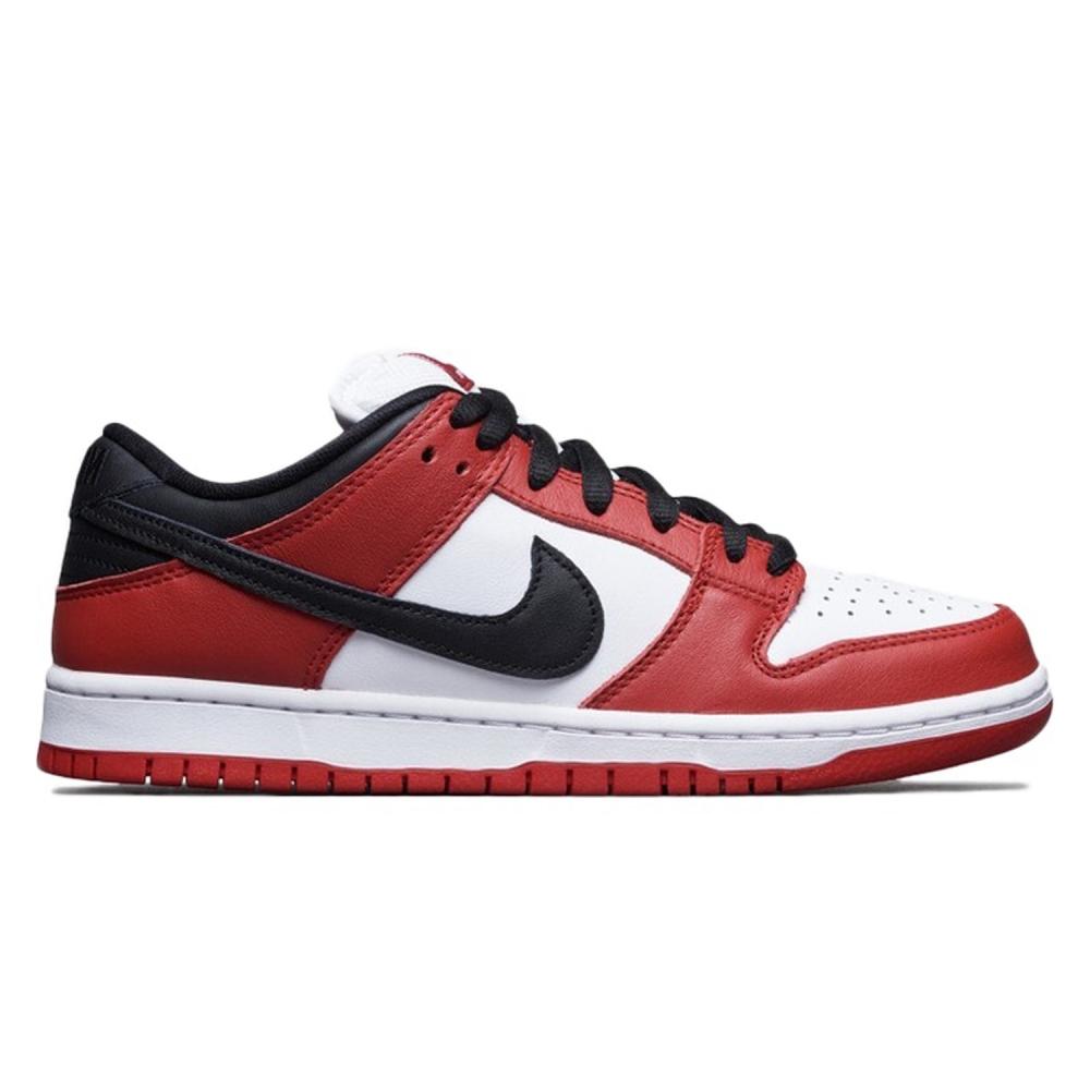 Nike SB Dunk Low Pro 'Chicago J-Pack' (Varsity Red/Black-White-Varsity Red)