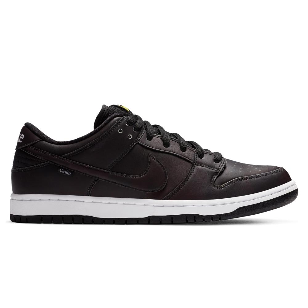 Nike SB x Civilist Berlin Dunk Low Pro (Black/Black-Black)