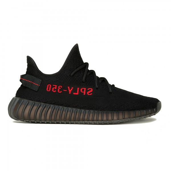 adidas YEEZY BOOST 350 V2 'Bred' (Core Black/Core Black/Red)
